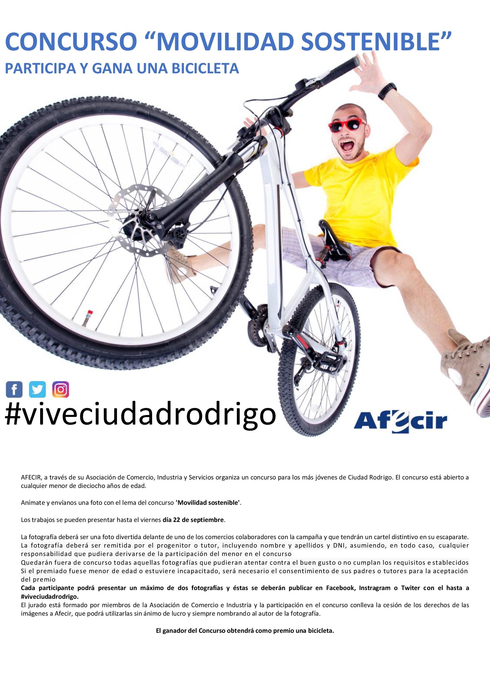 cartel afecir movilidad concurso
