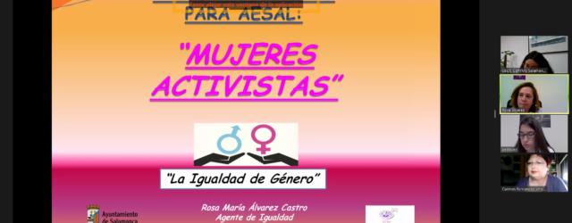 Jornada Mujeres Activistas de AESAL