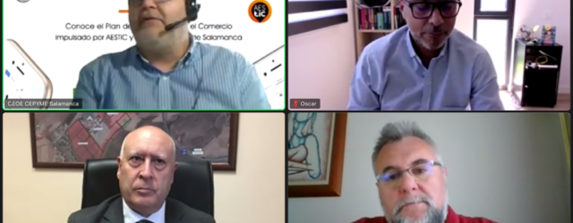 El Ayuntamiento de Salamanca impulsa, en colaboración con AESTIC, la transformación digital del comercio local con un amplio plan formativo