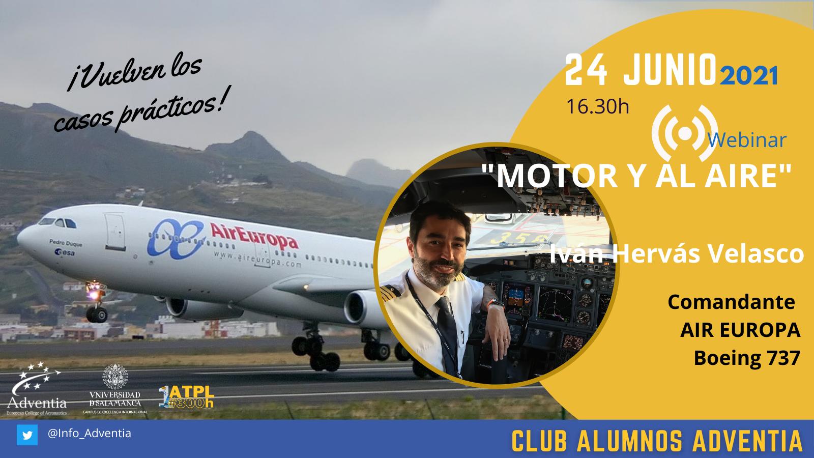 Nueva jornada del programa Real Class de Adventia sobre la maniobra 'Motor y al aire'