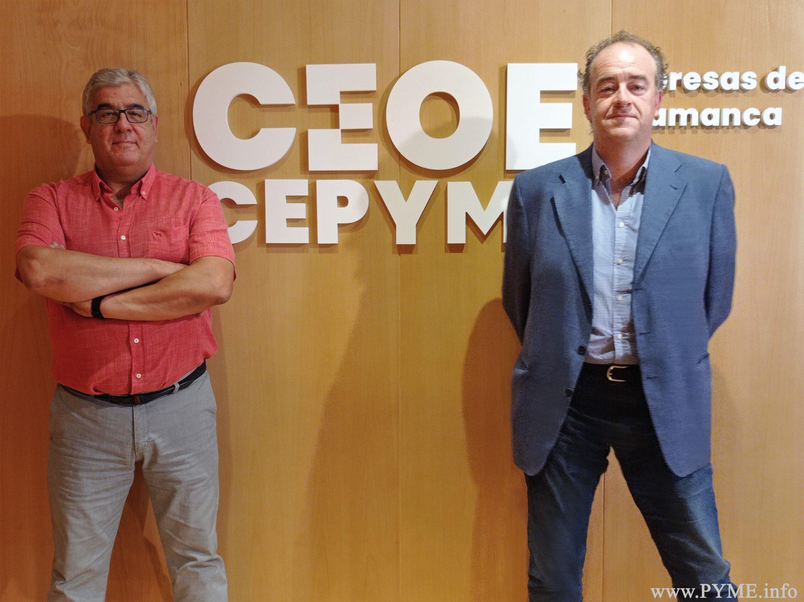 AESLUX traslada a CEOE CEPYME Salamanca la labor de la asociación en el impulso de la transformación digital